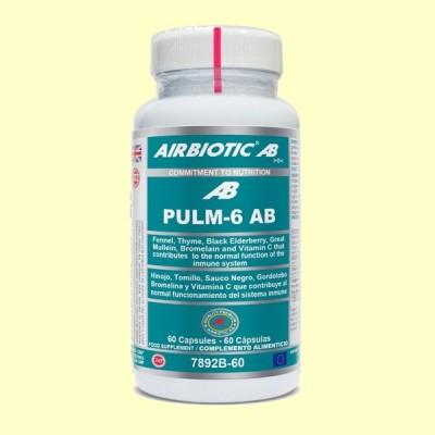 Pulm-6 AB - 60 cápsulas - Airbiotic