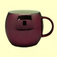 Taza porcelana redonda Color Fucsia- 300 ml - Cha Cult