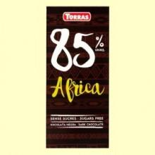 Chocolate Negro 85% Cacao África - 100 gramos - Torras