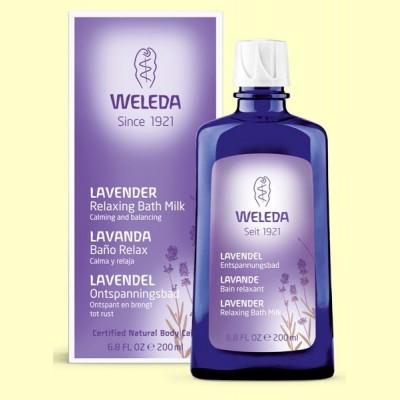 Baño esencias de lavanda- 200 ml - Weleda