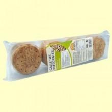 Galletas integrales con avena y manzana - Int- 200 g -Salim