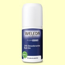 Desodorante Roll-on Men 24h - 50 ml - Weleda