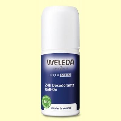 Desodorante Roll-on Men 24h - 50 ml - Weleda