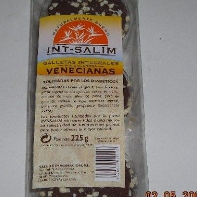 Galletas venecianas Almendra - Int- 225 g -Salim
