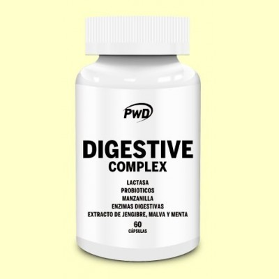 Digestive Complex - 60 cápsulas - PWD