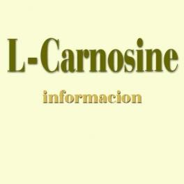 L-Carnosine - Suplemento alimenticio