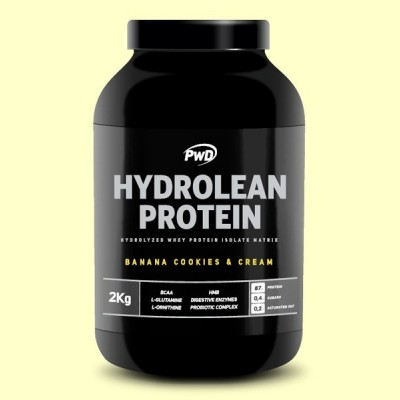 Hydrolean Protein Banana y Cookies and Cream - 2 kg - PWD