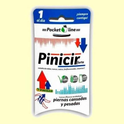 Pinicir Forte - Circulación - 10 cápsulas - Pinisan