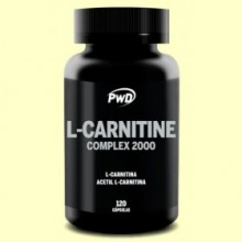 L-Carnitina Complex - Quemador de Grasa - PWD - 120 cápsulas