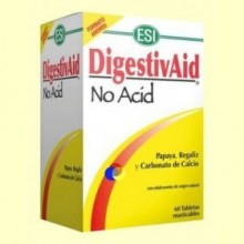 DigestivAid No Acid - 60 tabletas - Laboratorios ESI