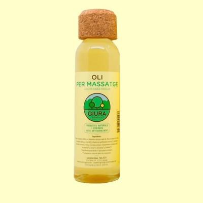 Aceite para masaje - 250 ml - Giura
