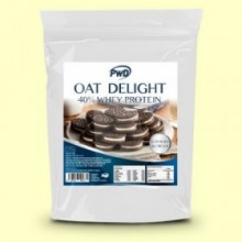 Oat Delight 40% Whey Protein Cookies Cream - 1,5 kg - PWD