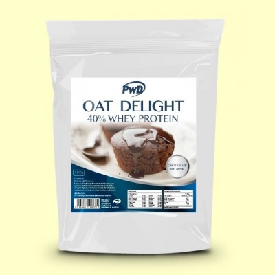 Oat Delight 40% Whey Protein Chocolate Brownie - 1,5 kg - PWD