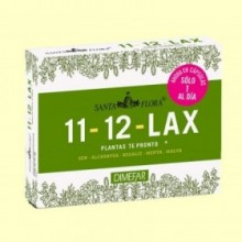 Santa Flora 11-12 lax Té Pronto - 30 cápsulas - Laboratorios Dimefar