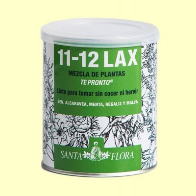 Santa Flora 11-12 lax Té Pronto - 70 g - Laboratorios Dimefar