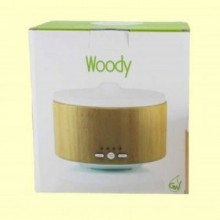 Woody - Difusor de vidrio y madera - 1 ud - Gisa Wellness