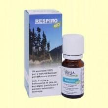 Respiro Sinergia de aceites esenciales Bio - 10 ml. - Gisa Wellness