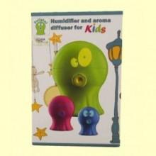 Polipini Humidificador Difusor de Aroma Niños Rosa - 1 ud - Gisa Wellness