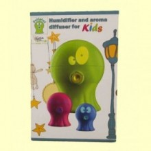 Polipini Humidificador Difusor de Aroma Niños Azul - 1 ud - Gisa Wellness