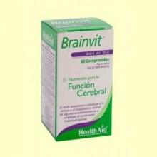 Brain Vit - Ayuda para la memoria - 60 comprimidos - Health Aid