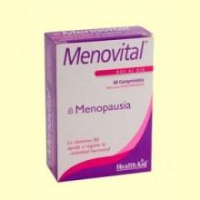 Menovital - Menopausia - 60 comprimidos - Health Aid