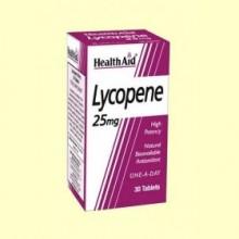 Lycopene - Licopeno - 30 comprimidos - Health Aid