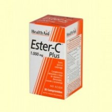 Ester C Plus 1000 mg - 30 comprimidos - Health Aid