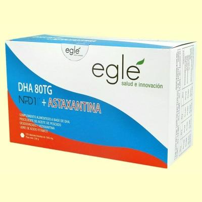 DHA 80 TG NPD1 + Astaxantina - 120 cápsulas - Egle