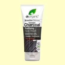 Limpiador Facial de Carbón - 200 ml - Dr.Organic