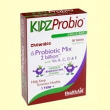 KidzProbio™ Comprimidos Masticables - 30 comprimidos - Health Aid