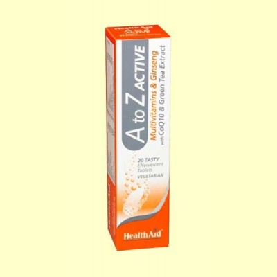 Multi A-Z Active - 20 comprimidos - Health Aid