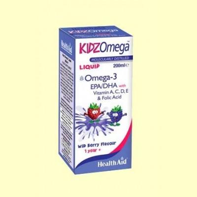 Kidz Omega Liquid - 200 ml - Health Aid