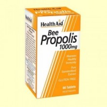 Própolis 1000 - Extracto de propóleo estandarizado - 60 comprimidos - Health Aid