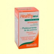 Healthy Mega - Multinutriente - 60 comprimidos - Health Aid