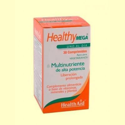 Healthy Mega - Multinutriente - 60 comprimidos - Health Aid