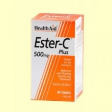 Ester C Plus 500 mg - 60 comprimidos - Health Aid
