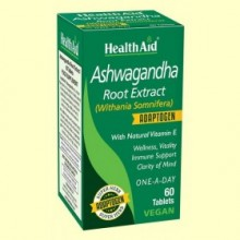 Ashwagandha (Withania Somnifera) - 60 Comprimidos - Health Aid *