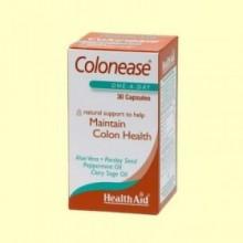 Colonease - Limpieza del colon - 30 cápsulas * - Health Aid