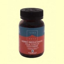 Hierro Bisglicinato 20 mg Complex - 100 cápsulas - Terra Nova