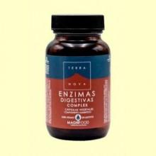 Enzimas Digestivas Complex - 100 cápsulas - Terra Nova