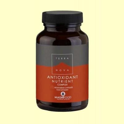 Nutrientes Antioxidantes Complex - 100 cápsulas - Terra Nova
