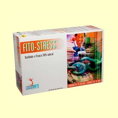Fito-Stress - 30 ampollas - Lusodiete