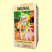 Imunal - Espirulina, Equinácea y Shiitake - 100 cápsulas - Lusodiete
