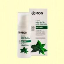 Crema facial de Árbol del Té y Ácido Hialurónico - 50 ml - Mon Deconatur