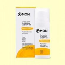 Crema solar facial UVB/SPF50 - 50 ml - Mon Deconatur