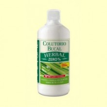 Colutorio Bucal Herbal Zero% - 1 l - Natysal