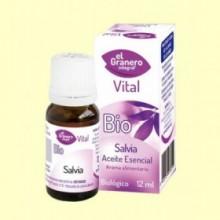 Aceite esencial Salvia Bio - 12 ml - El Granero
