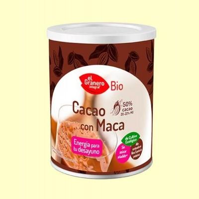 Cacao con Maca Bio - 200 g - El Granero