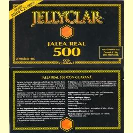 Jellyclar. Jalea Real 500 con Guaraná. Dietclar
