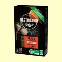 Perú Pur Arábica Café Bio - 10 cápsulas - El Granero